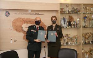 Bendradarbiavimo sutarties pasirašymas | aad.lrv.lt nuuotr.