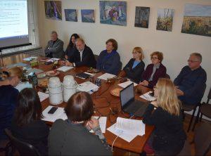 Etninės kultūros globos tarybos posėdis | EKGT nuotr.