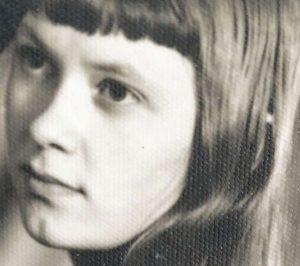 Laima Purlienė. Vaikystės nuotrauka | asmeninė nuotr.