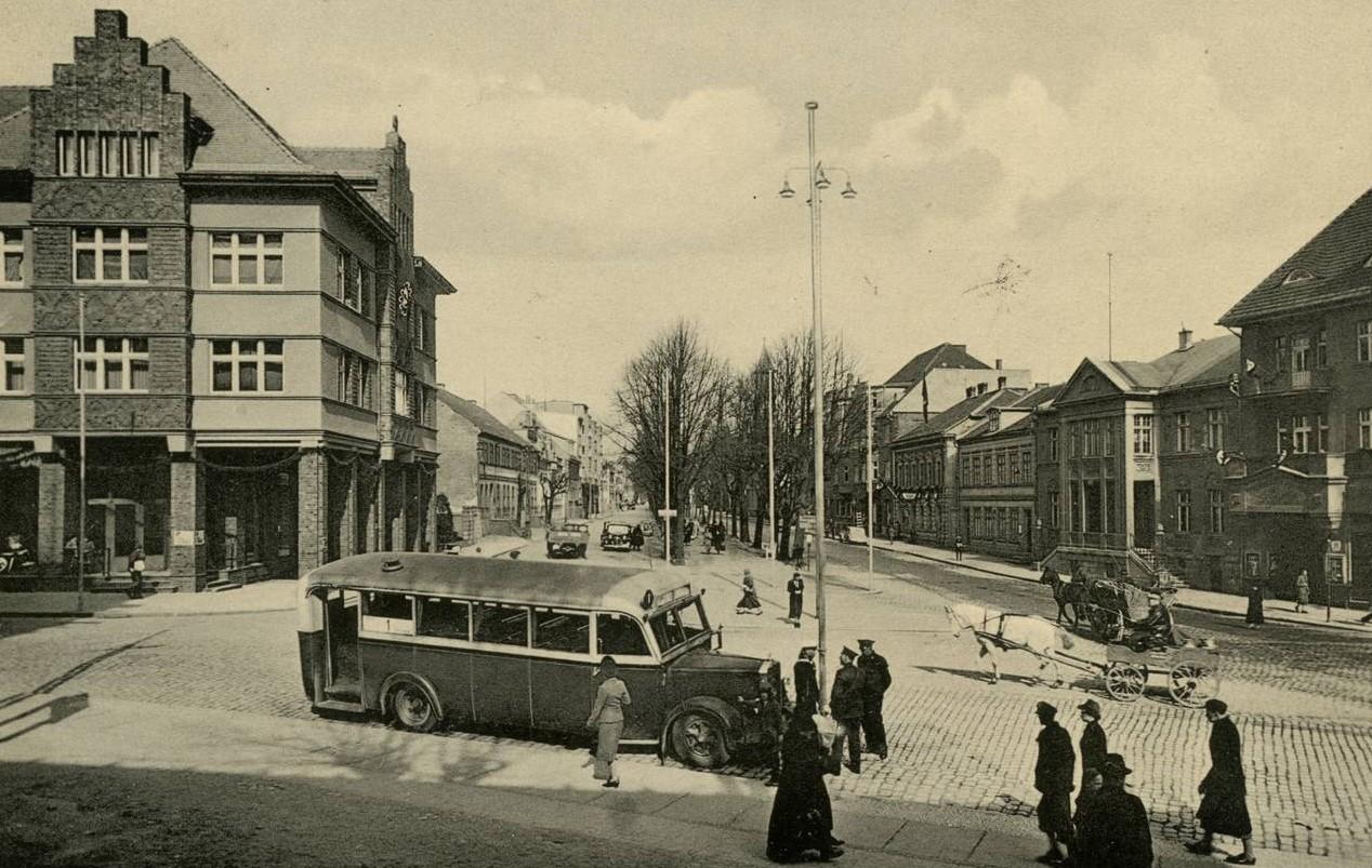 Klaipėdos centras 1939 m. kovo 22 d. | savaite.lt nuotr.