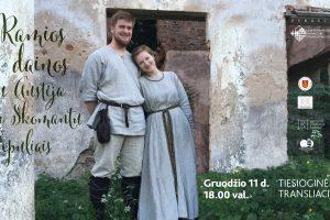 Austėja Agnietė Čepulienė ir Skomantas Čepulis   Klaipėdos etnokultūros centro nuotr.