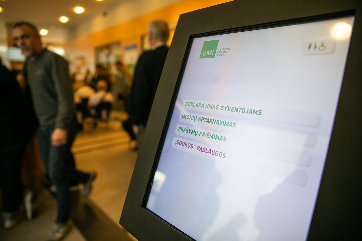 VMI konsultacijos   E. Blaževič, LRT nuotr.