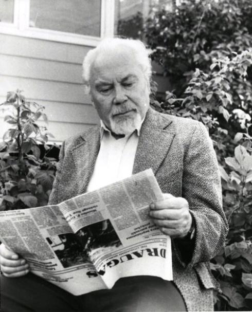Poetas Kazys Bradūnas | E. Bradūnaitės asmeninio archyvo nuotr.