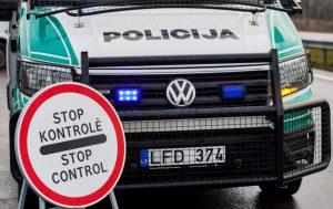 Policija, kontrolė | vrm.lrv.lt nuotr.