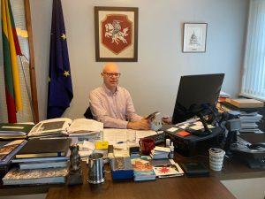 Lietuvos ambasadorius JK Renatas Norkus | urm.lt nuotr.