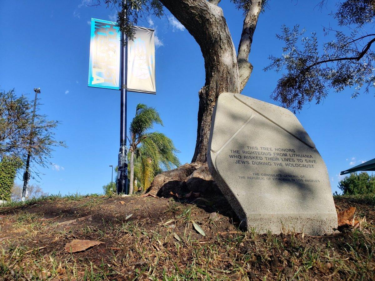 Los Andžele pagerbti žydus gelbėję lietuviai | urm.lt nuotr.