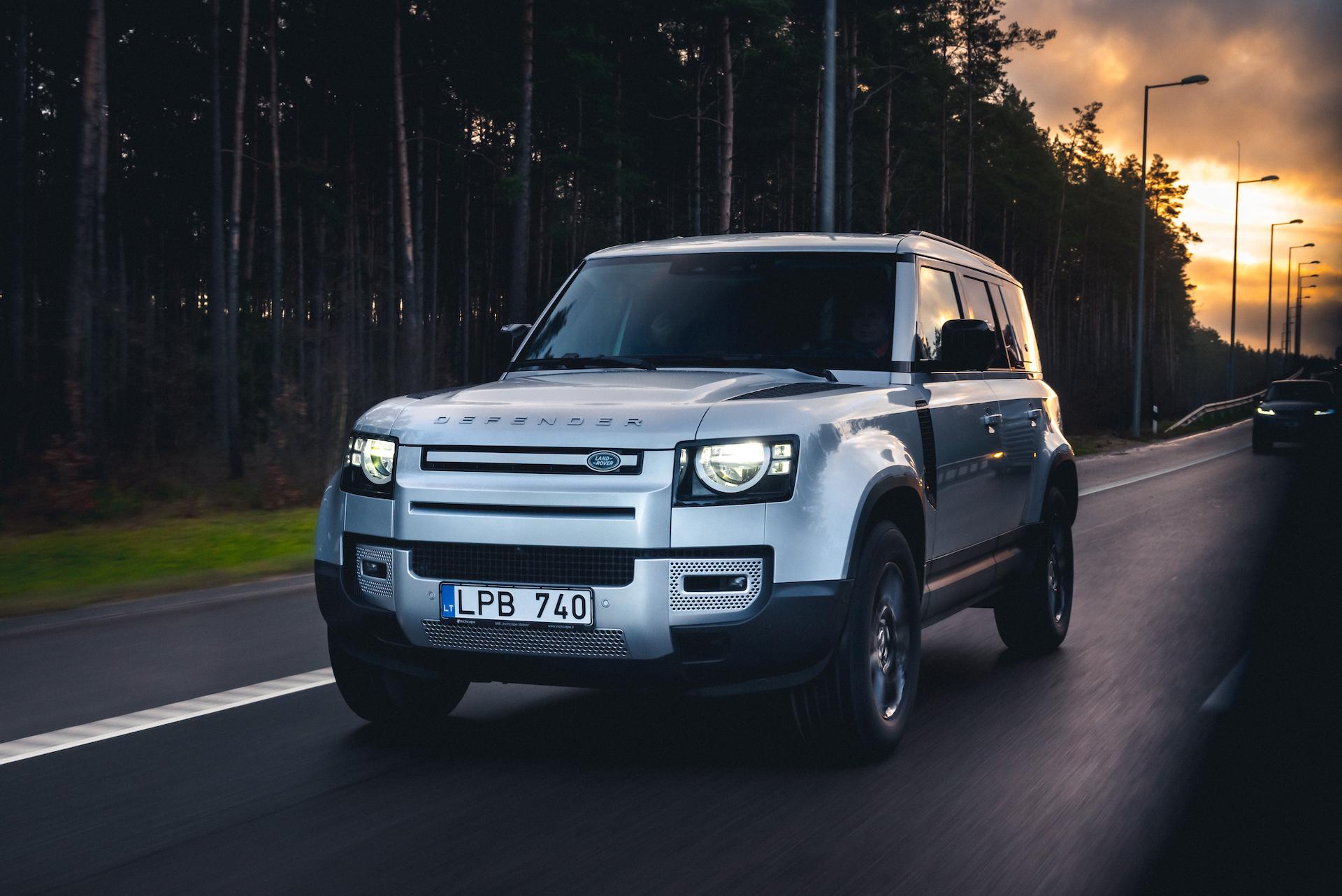Antanas Juknevičius išbandė Land Rover Defender 15 | Asmeninė nuotr.