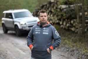 Antanas Juknevičius išbandė Land Rover Defender 36 | Asmeninė nuotr.