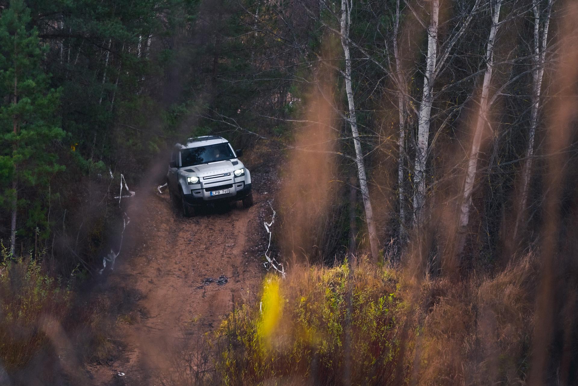 Antanas Juknevičius išbandė Land Rover Defender 5 | Asmeninė nuotr.