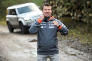 Antanas Juknevičius išbando Land Rover Defender 8   Asmeninė nuotr.