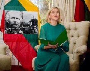 Airijos aukštesnio lygio kalbų agentūros lietuvių kalbos plėtros pareigūnė, lietuvių kalbos mokytoja Jurgita Urbelienė | asmeninė nuotr