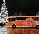 Kalėdinis autobusas | kaunas.lt nuotr.