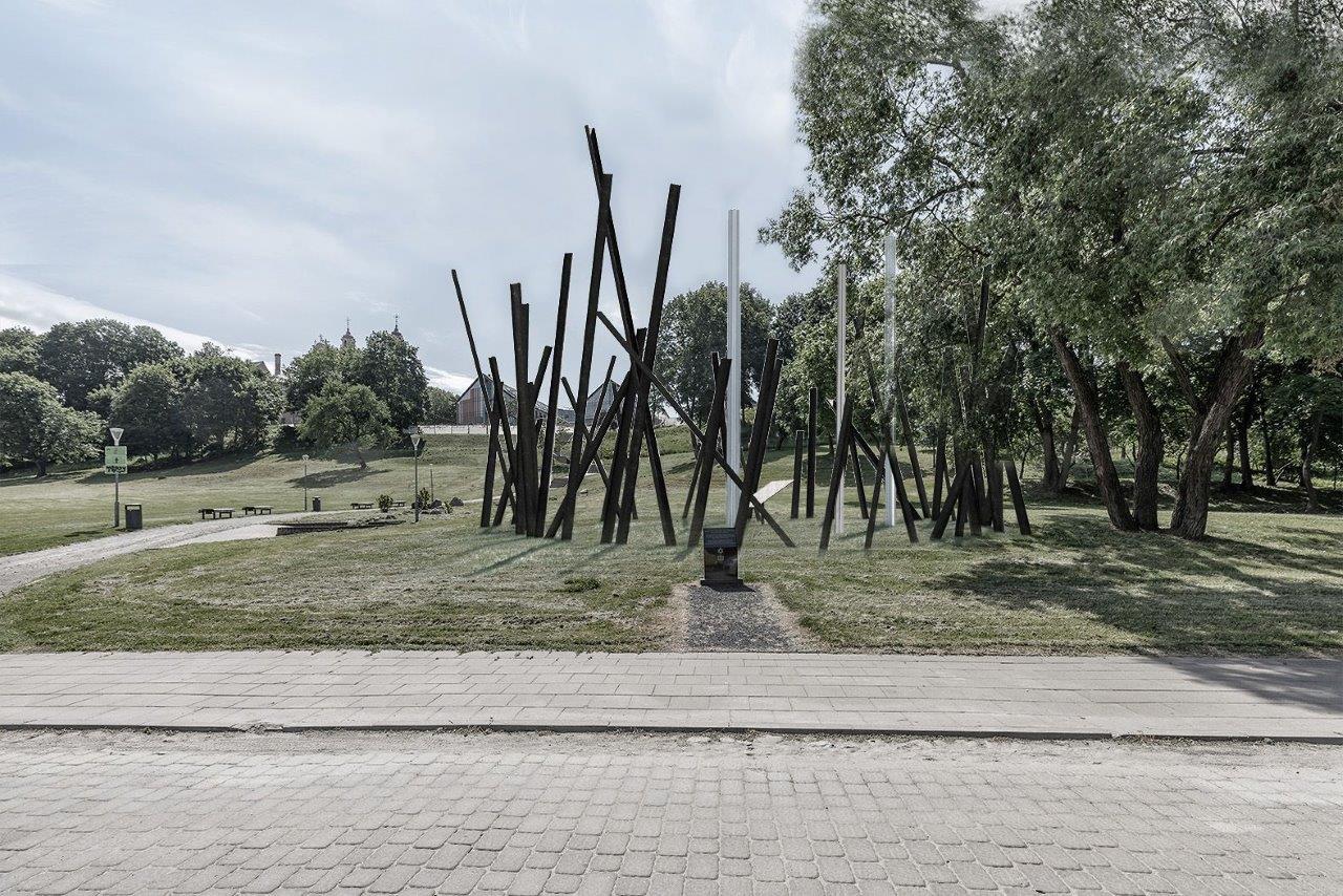 Paminklo žydų gelbėtojams Vilniuje sumanymus pasiūlė 14 autorių   Vilniaus miesto savivaldybės nuotr.