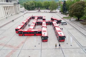 Autobusai | S. Žiūros nuotr.