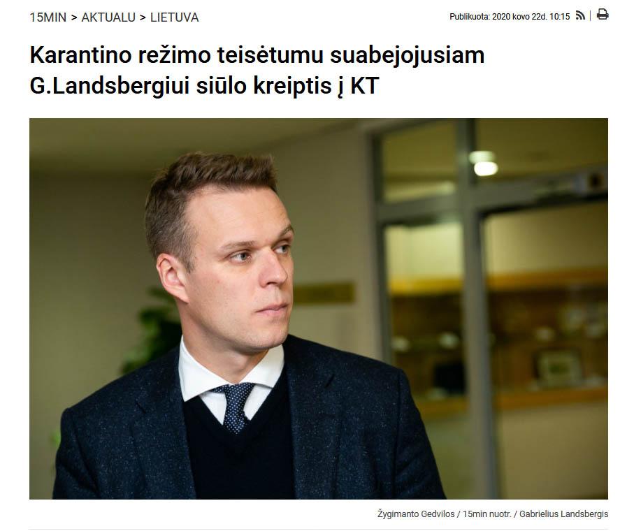 Screenshot_2020-12-14 Karantino režimo teisėtumu suabejojusiam G Landsbergiui siūlo kreiptis į KT