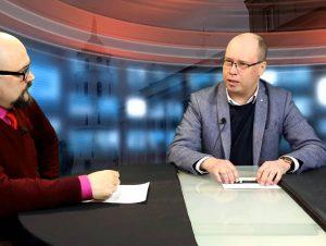 Vitalijus Balkus ir Tomas Vagnorius | Alkas.lt ekrano nuotr.