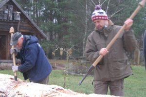 Puoselėjami papročiai – drevinė bitininkystė | lrv.lt nuotr.