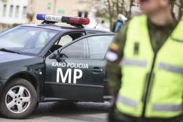 Karo policija | I. Budzeikaitės nuotr.