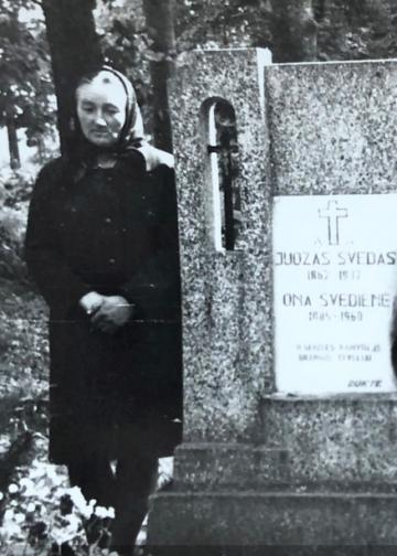 Juozo Švedo duktė Janina Žukienė   Janinos Švedaitės archyvo nuotr.
