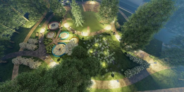 Sapiegų parko varžytuvėms siūlyta idėja | vilnius.lt nuotr.