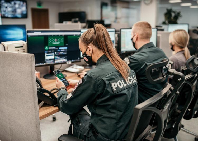 Policijos virtualus patrulis   fb nuotr.