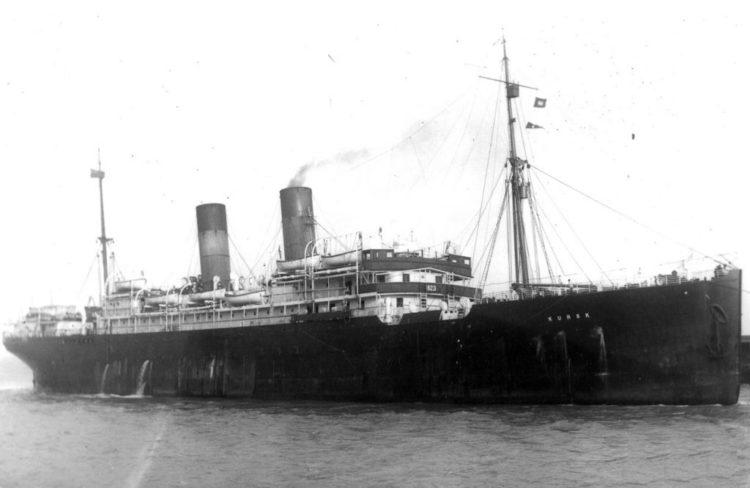Masinės emigracijos pradžia 1868 m. Laivas, kuriuo 1868 m. gruodžio 11 d. iš Hamburgo plaukė emigrantai, vadinosi James Foster | punskas.pl nuotr.