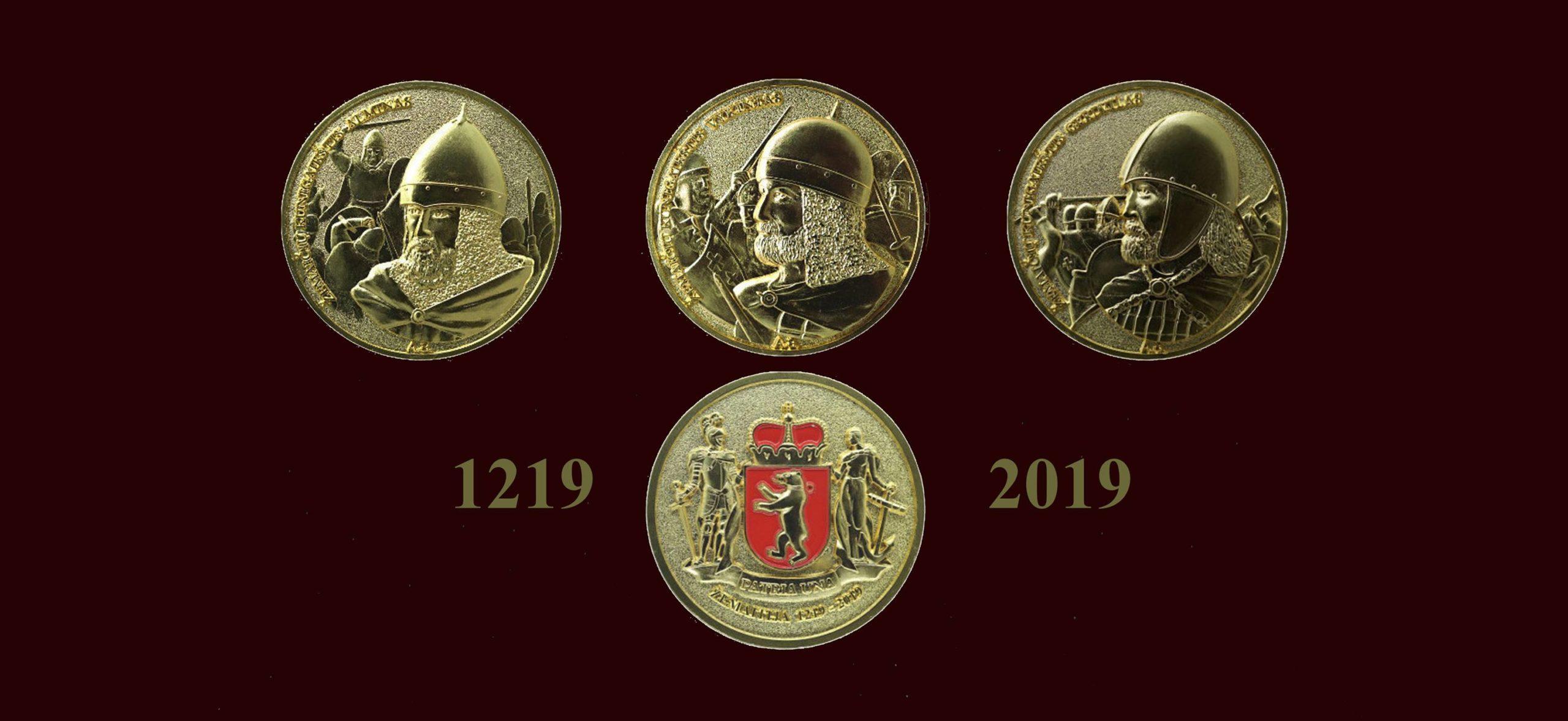 """Žemaitijos kunigaikščių medalių kolekcija skiriama už nuopelnus Žemaitijai   ,,Karšuvos būtovės"""" nuotr."""