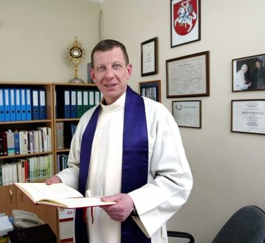 Kapelionas Arnoldas Valkauskas | respublika.lt nuotr.