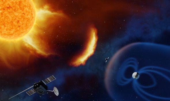 Žybsniai Saulėje drumsčia Žemės magnetinio lauko ramybę | NASA nuotr.