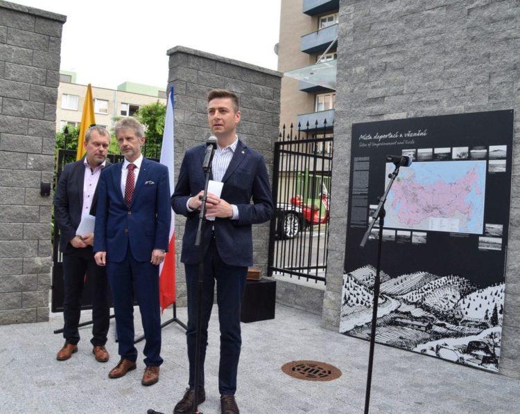 Prahoje čekų kalba pristatyta Lietuvos genocido tyrimo centro parengta paroda apie tremtį | genocid.lt nuotr.