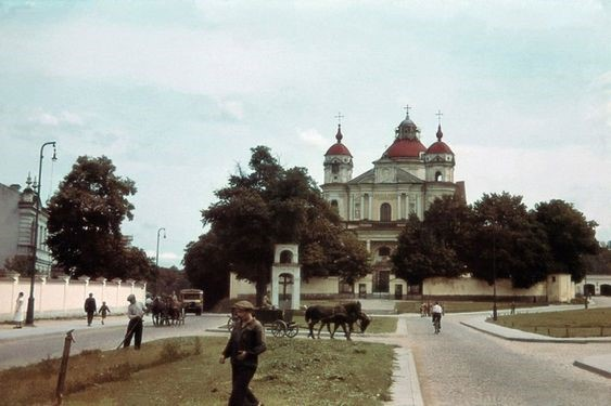 Mūšio vieta, dab. Olandų ir Antakalnio gatvių žiedas | S. Gorodeckio skaitmeninio archyvo nuotr.