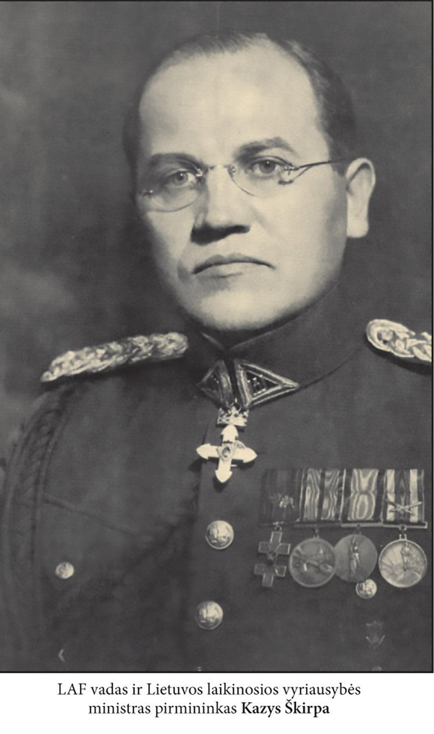 LAF Berlyno skyriaus vadas Kazys Škirpa | LGGRTC nuotr.