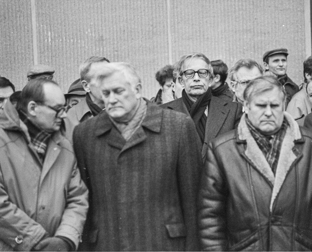 Algirdas Brazauskas ir Stasys Lozoraitis | P. Lileikio nuotr.