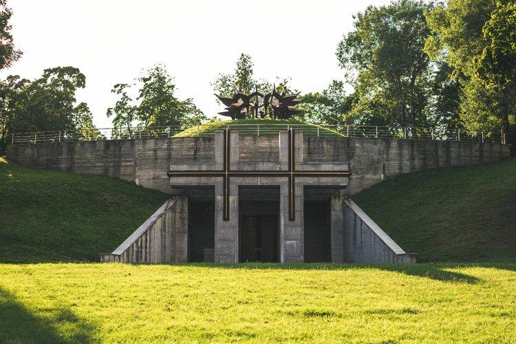 Tuskulėnų rimties parko memorialinis kompleksas   govilnius.lt nuotr.
