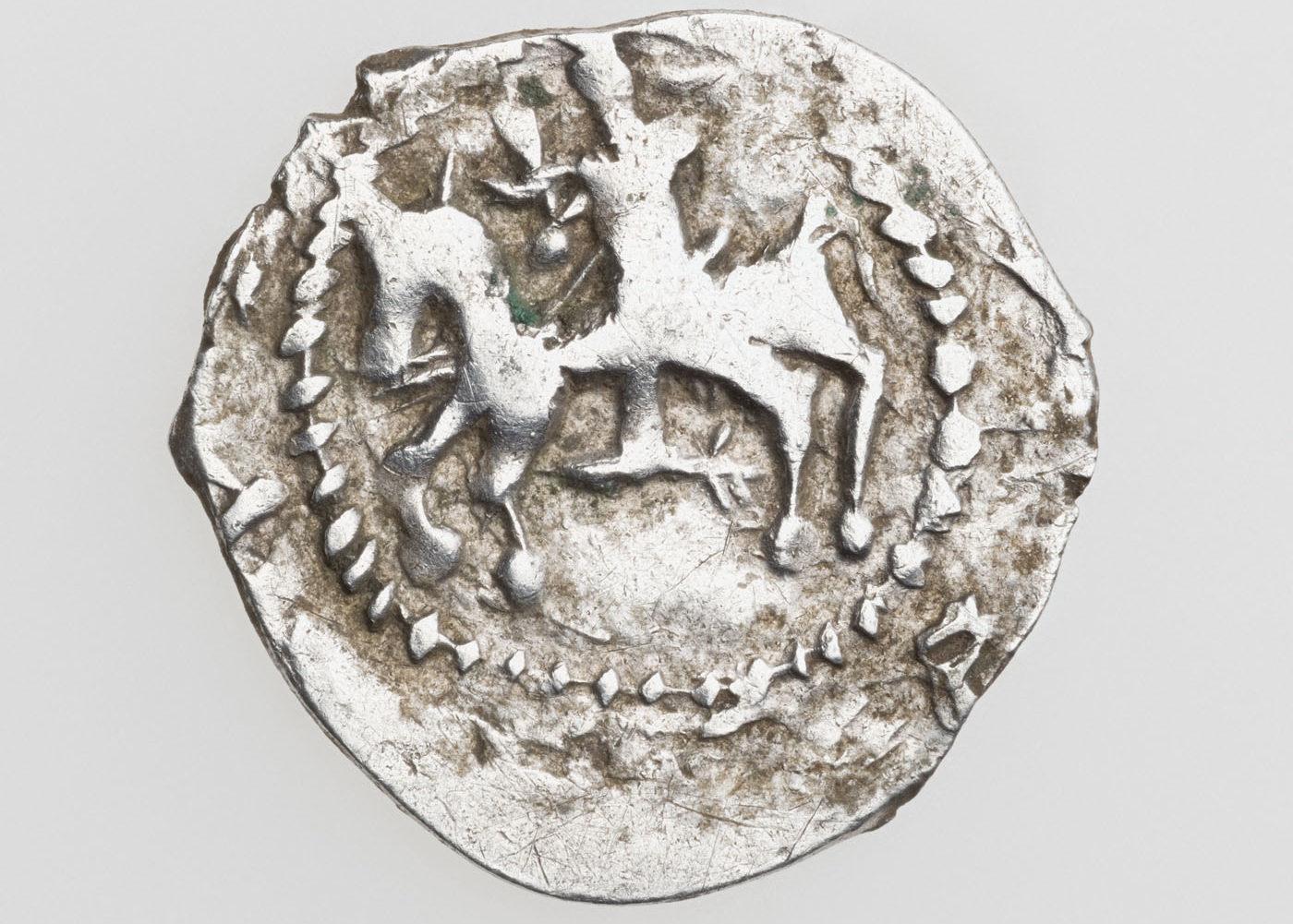 Jogailos denaras 1388 m. Viena iš lobio monetų | LNM, G. Trečioko nuotr.