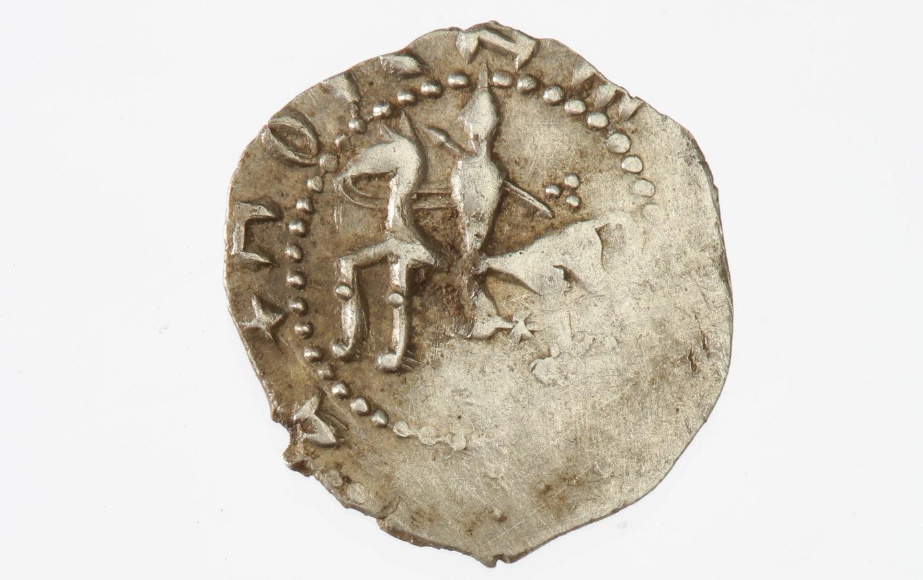 Raišių lobio moneta dar prieš jai patenkant į restauratorių rankas | LNM, A. Baltėno nuotr.