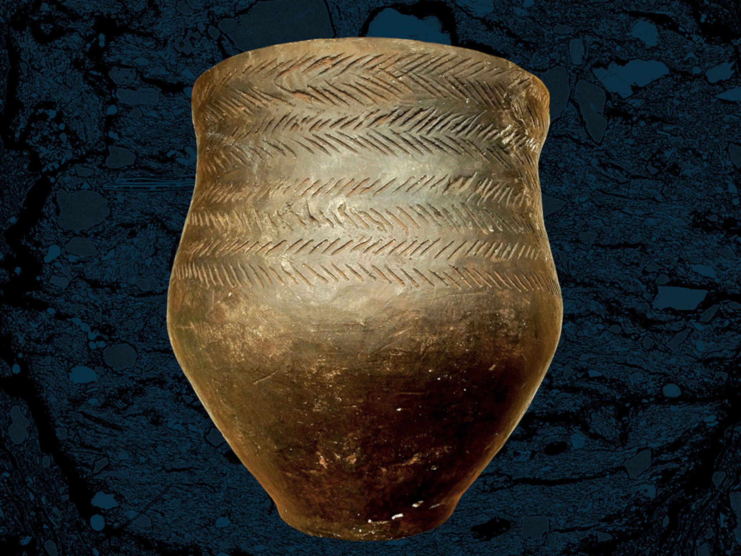 Akmens amžiaus puodas | lnm.lt nuotr.