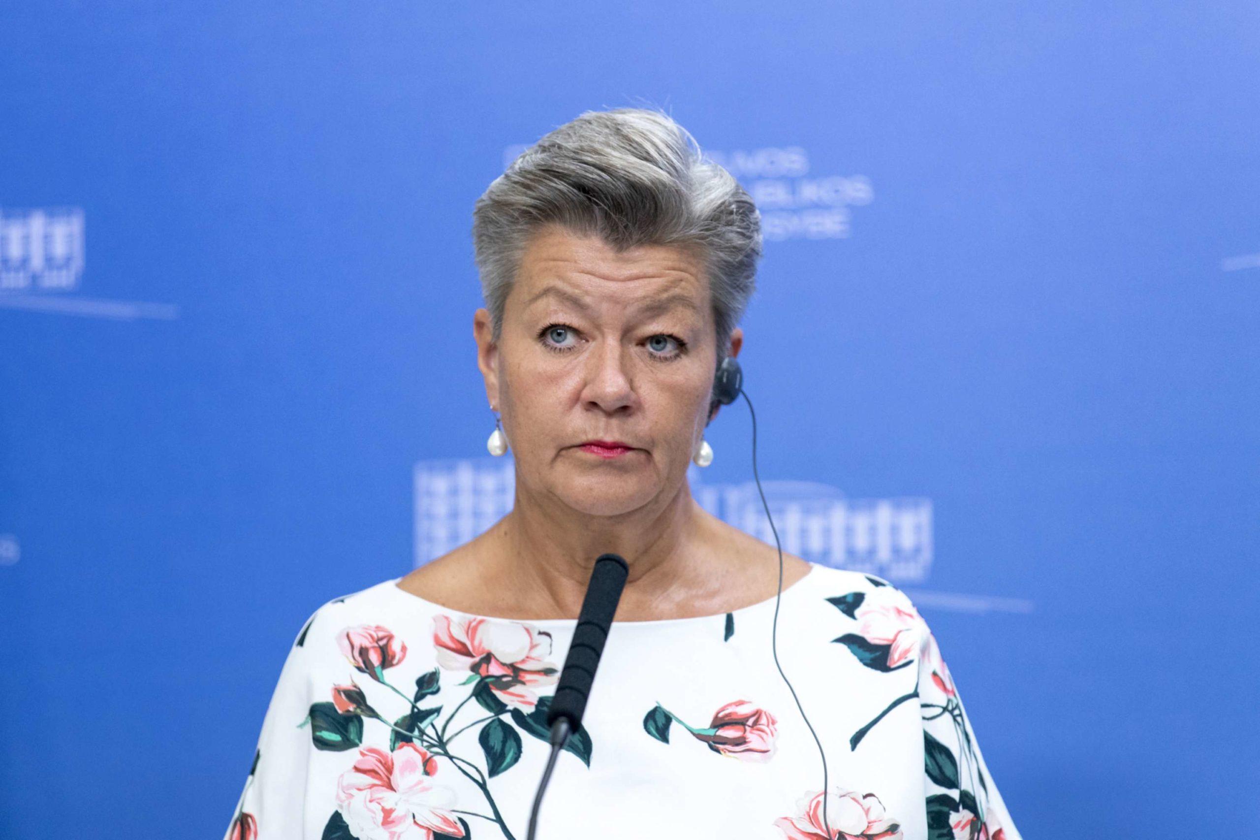 Ilva Juhansons (Ylva Johansson)   lrv.lt nuotr.